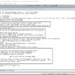 WinDbg接続画面